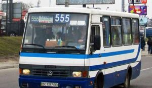555 маршрут, тимчасово визначено, як спецтранспорт
